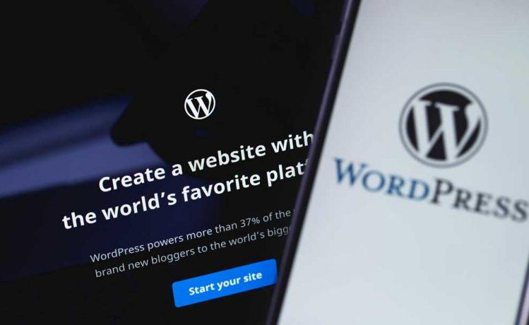 écran-accueil-cms-wordpress-navigateur-mobile